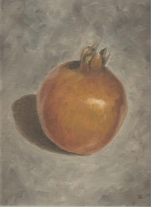 Pomegranate in Oil #1