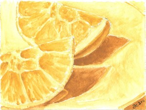 watercolororanges