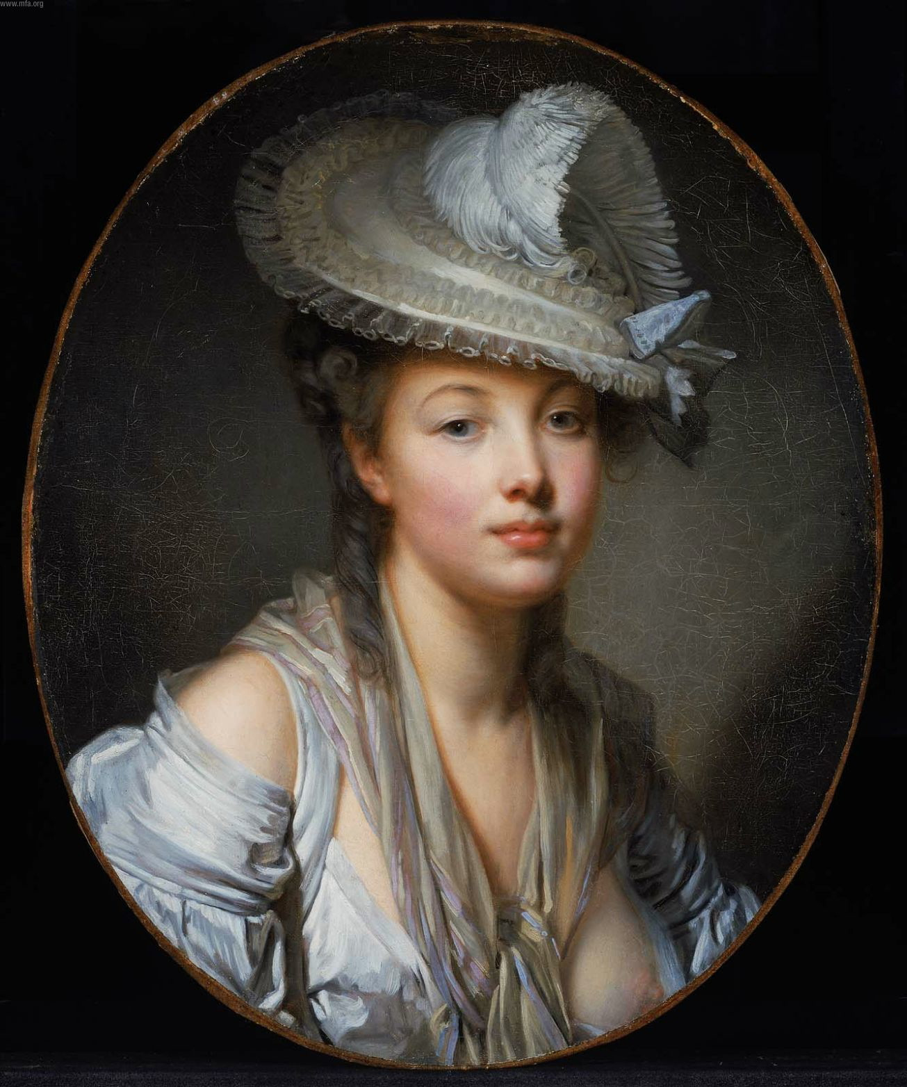 Jean-Baptiste_Greuze_The_White_Hat_2120759508 from WikiCommons