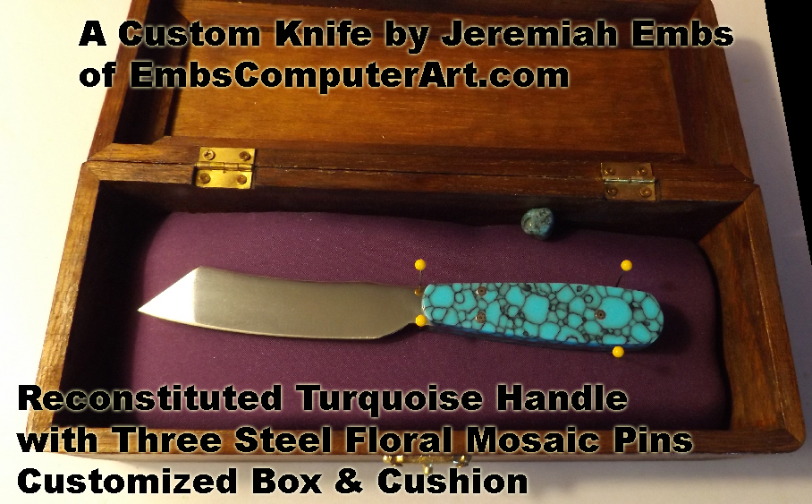 A Custom Knife by Jeremiah Embs of EmbsComputerArt.com